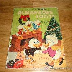 Tebeos: DUMBO ALMANAQUE 1961 (WALT DISNEY). Lote 37191870