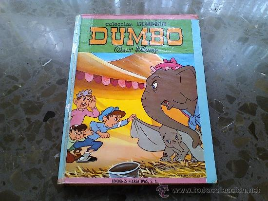 DUMBO. WALT DISNEY. EDICIONES RECREATIVAS. Nº 5. 1970. WALT DISNEY PRODUCTIONS (Tebeos y Comics - Ersa)
