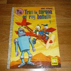 """Tebeos: """"TRAS LA CORONA DEL REY BOLLULLO"""" COLECCIÓN DUMBO Nº 81 WALT DISNEY E.R.S.A. AÑO 1971. PERF. Lote 37551863"""
