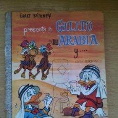 Tebeos: COLECCION DUMBO Nº 2 GILITO DE ARABIA WALT DISNEY ERSA 1968. Lote 38076430