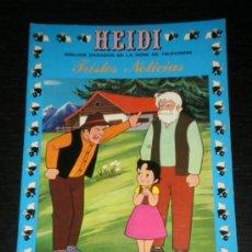 Tebeos: HEIDI Nº 4 - TRISTES NOTICIAS - EDICIONES RECREATIVAS ERSA. Lote 38972896