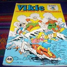 Tebeos: VIKIE Nº 48. ERSA 1979. 100 PTS. INTERCAMBIO DE EMBAJADORES. Y DIFÍCIL!!!!!!!!!!!. Lote 38999203