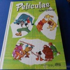 Tebeos: PELICULAS WALT DISNEY- SEXTO TOMO -COLECCION JOVIAL-1985. Lote 39032060