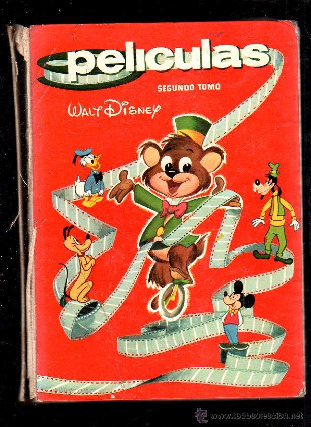 PELICULAS WALT DISNEY TOMO 2 . COLECCION JOVIAL. HANNA - BARBERA. 1964. VER FOTOS. (Tebeos y Comics - Ersa)
