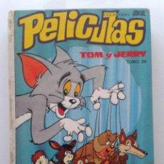 Tebeos: PELICULAS WALT DISNEY - COLECCION JOVIAL TOMO 39 - TOM Y JERRY. Lote 40035411