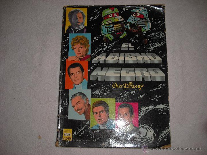 EL ABISMO NEGRO WALT DISNEY 1980 Nº 25 COLECCION CUCAÑA (Tebeos y Comics - Ersa)