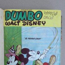 Tebeos: DUMBO HISTORIETAS COMICAS DE WALT DISNEY 22 NUMEROS ENCUADERNADOS AÑO 1952-53 EDICIONES RECREATIVAS. Lote 41730415