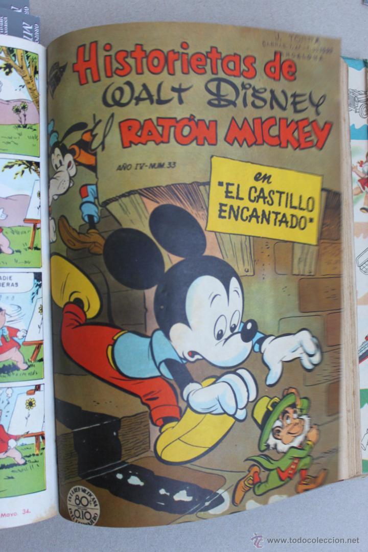 Tebeos: DUMBO HISTORIETAS COMICAS DE WALT DISNEY 22 NUMEROS ENCUADERNADOS año 1952-53 EDICIONES RECREATIVAS - Foto 21 - 41730415
