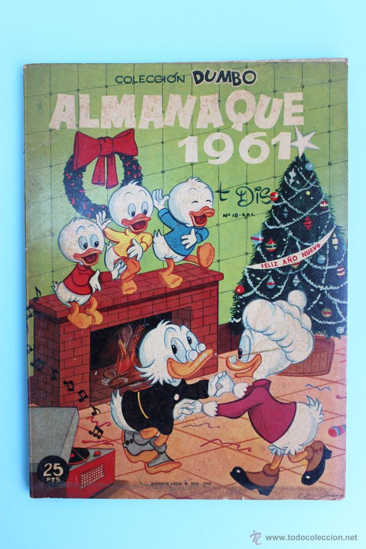 DUMBO DE ERSA - ALMANAQUE 1961 - WALT DISNEY (Tebeos y Comics - Ersa)