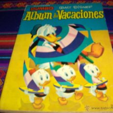 Tebeos: DUMBO ALBUM VACACIONES 1957 Y 1965. ERSA. WALT DISNEY. BUEN ESTADO Y DIFÍCILES.. Lote 42518243