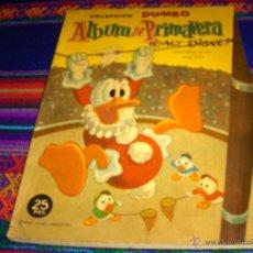 Tebeos: DUMBO ALBUM PRIMAVERA 1960 Y 1962. ERSA. WALT DISNEY. 25 PTS. DIFÍCILES!!!!. Lote 42518652