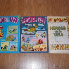 BDs: HEROES DE LA TELE LOTE DE 3 NUMEROS (24, 25, ?) ERSA 1983 HANNA BARBERA EDICIONES RECREATIVAS. Lote 43172305