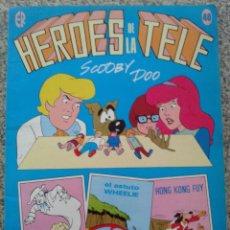 Tebeos: HEROES DE LA TELE -- Nº 40 -- SCOOBY DOO -- HANNA-BARBERA -- EDITORIAL ERSA --. Lote 43956932