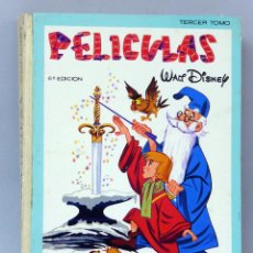 Tebeos: PELÍCULAS WALT DISNEY TOMO 3 COLECCIÓN JOVIAL EDICIONES RECREATIVAS 1968 6º EDICIÓN. Lote 145505924