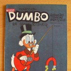 Tebeos: DUMBO Nº 333 - CONCURSO DE MAGIA - ERSA 1947. Lote 45105273