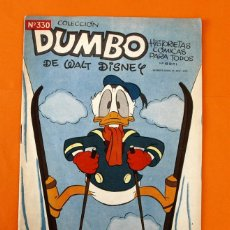 Tebeos: COLECCION DUMBO - WALT DISNEY - HISTORIETAS COMICAS - Nº 330 - AMOR PERRUNO - ERSA -. Lote 45150827