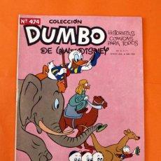 Tebeos: COLECCION DUMBO - WALT DISNEY - HISTORIETAS COMICAS - Nº 474 - UN MUCHACHO ORIGINAL - ERSA -. Lote 45156284