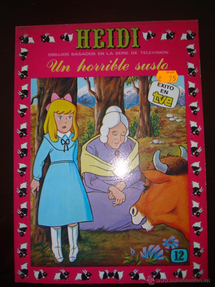 HEIDI Nº-12 (Tebeos y Comics - Ersa)