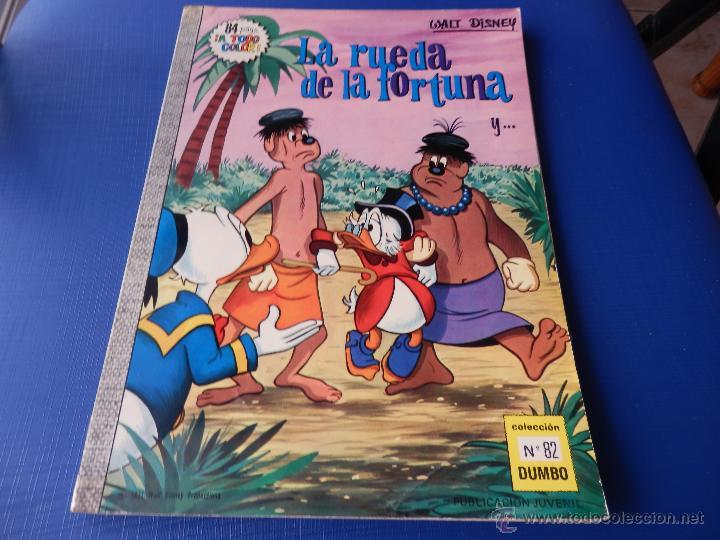 COLECCIÓN DUMBO NUM. 82 - WALT DISNEY - E.R.S.A. - AÑO 1971 40 PTAS. (Tebeos y Comics - Ersa)
