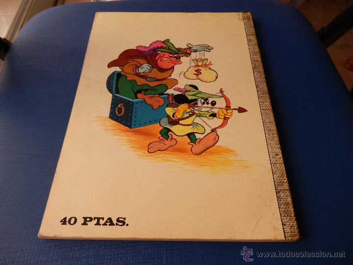 Tebeos: COLECCIÓN DUMBO NUM. 80 - WALT DISNEY - E.R.S.A. - AÑO 1971 40 PTAS. - Foto 6 - 45519107