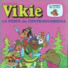 Tebeos: VIKIE EL VIKINGO DE LA TELE Nº 77 ÚLTIMO DE LA COLECCIÓN, EDICIONES RECREATIVAS ERSA - MUY NUEVO. Lote 46007082