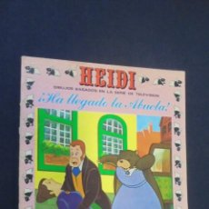 Tebeos: HEIDI - Nº 7 - EDICIONES RECREATIVAS.. Lote 47470780