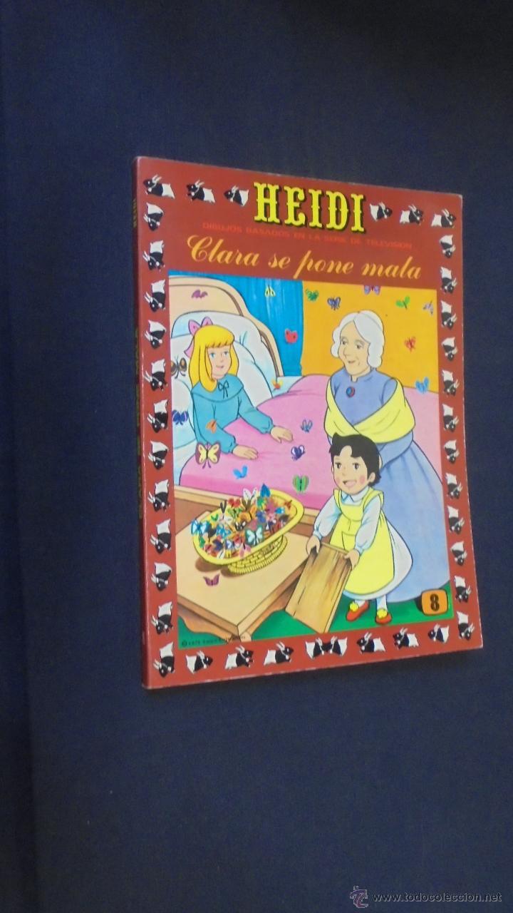 HEIDI - Nº 8 - EDICIONES RECREATIVAS. (Tebeos y Comics - Ersa)