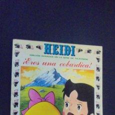Tebeos: HEIDI - Nº 13 - EDICIONES RECREATIVAS.. Lote 47471221