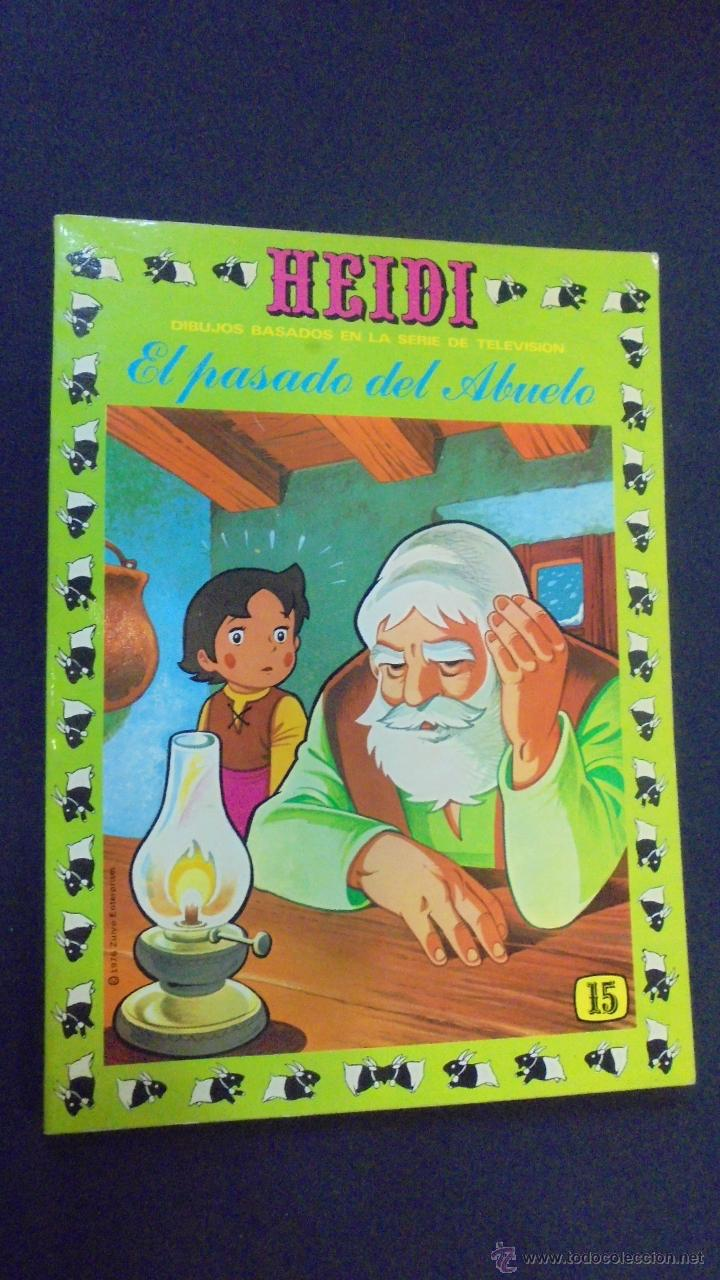 HEIDI - Nº 15 - EDICIONES RECREATIVAS. (Tebeos y Comics - Ersa)