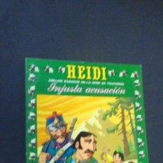Tebeos: HEIDI - Nº 21 - EDICIONES RECREATIVAS.. Lote 47471703