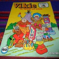 Tebeos: VIKIE Nº 60 EL VIKINGO DE LA TELE. ERSA 1982. 100 PTS. EL GENIO DEL BAÚL. . Lote 47604591