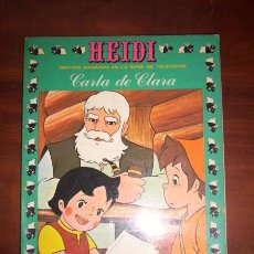 Tebeos: SPYRI, JUANA. HEIDI. [10] : CARTA DE CLARA. Lote 47605071