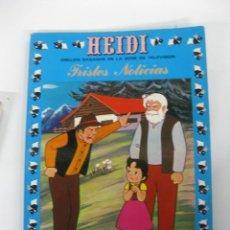 Tebeos: HEIDI Nº 4. TRISTES NOTICIAS. EDICIONES RECREATIVAS S.A. 1975. Lote 47608179
