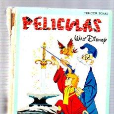 Tebeos: COLECCION JOVIAL. PELICULAS. TERCER TOMO. WALT DISNEY. EDICIONES ERSA. Lote 49299566
