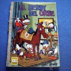 Tebeos: COMIC EL DERBI DEL ORBE COL DUMBO Nº 35 1969 2º EDICION ERSA TIO GILITO DONALD WALT DISNEY. Lote 49307885