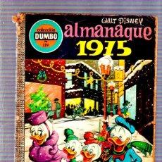 Tebeos: COLECCION DUMBO. Nº 119. ALMANAQUE 1975. WALT DISNEY. EDICIONES ERSA. Lote 49315777