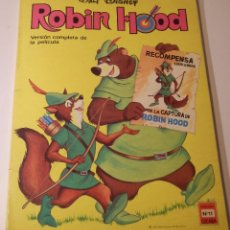 Tebeos: ROBIN HOOD VERSIÓN COMPLETA DE LA PELÍCULA COLECCIÓN CUCAÑA Nº 11 ERSA 1974. Lote 50038025