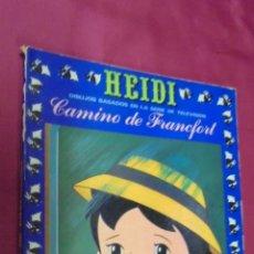 Tebeos: HEIDI. Nº 5. EDICIONES RECREATIVAS. ERSA.. Lote 50141830