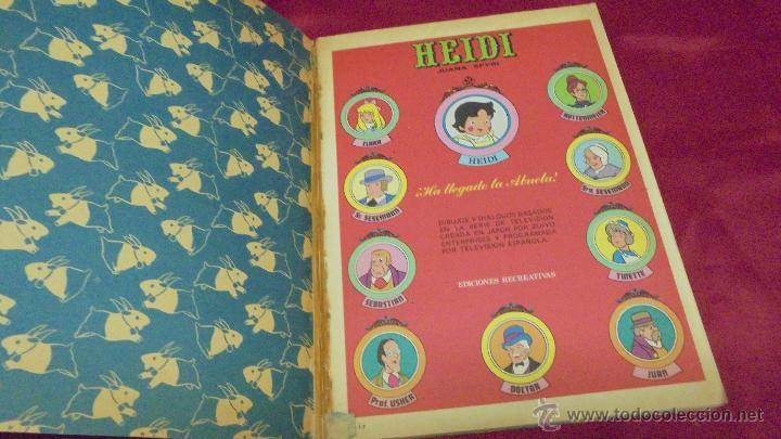 Tebeos: HEIDI. Nº 7. EDICIONES RECREATIVAS. ERSA. - Foto 2 - 50141866