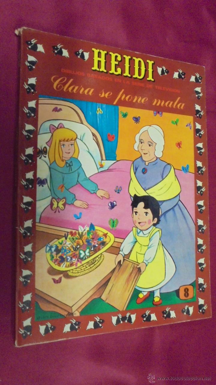 HEIDI. Nº 8. EDICIONES RECREATIVAS. ERSA. (Tebeos y Comics - Ersa)