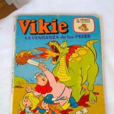 Tebeos: VIKIE LA VENGANZA DE LOS PECES Nº 7 AÑOS 70. Lote 50187895