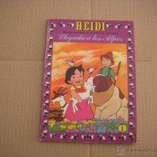 Tebeos: HEIDI Nº 1, EDITORIAL ERSA. Lote 50252275