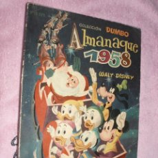 Tebeos: ALMANAQUE 1958,DUMBO ERSA. Lote 50377247