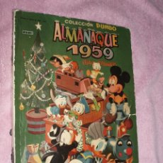Tebeos: ALMANAQUE 1959,DUMBO ERSA. Lote 50377284