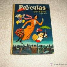 Tebeos: PELICULAS WALT DISNEY , CUARTO TOMO COLECCION JOVIAL 1966. Lote 50537302