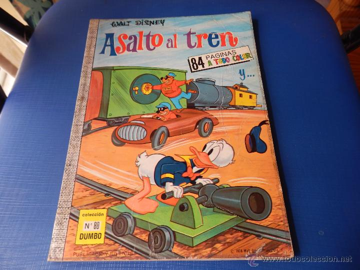 COLECCIÓN DUMBO NUM. 80 - WALT DISNEY - E.R.S.A. - AÑO 1974 40 PTAS. (Tebeos y Comics - Ersa)