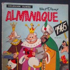 Tebeos: COLECCIÓN DUMBO - ALMANAQUE 1965 - ERSA - WALT DISNEY - 30 PTAS. - 1964. Lote 51187456