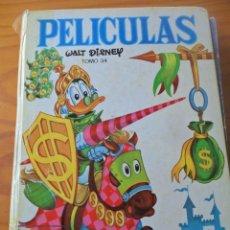 Tebeos: PELICULAS WALT DISNEY - TOMO 34 - COLECCION JOVIAL ERSA. Lote 52369467