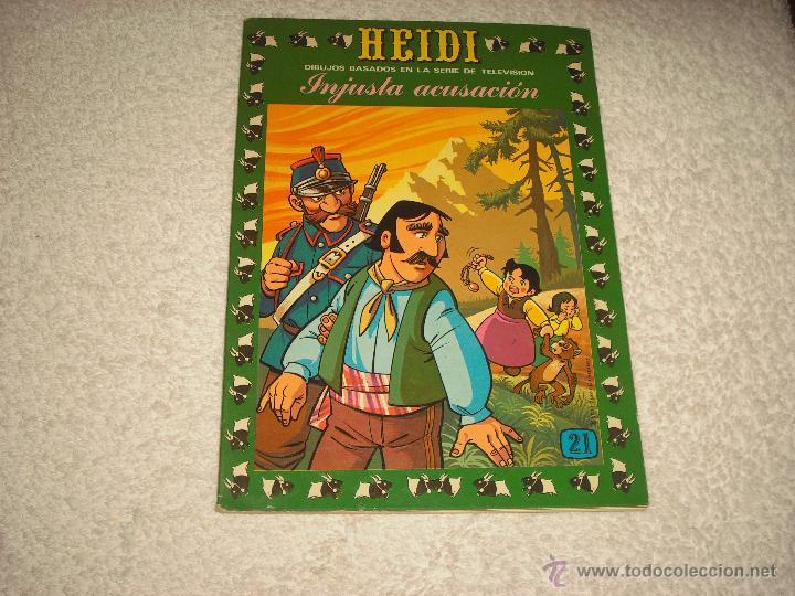 HEIDI N. 21 , INJUSTA ACUSACION (Tebeos y Comics - Ersa)