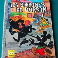 Tebeos: COLECCIÓN DUMBO Nº 21 - ERSA - WALT DISNEY - LOS BORRONES DE BORRÓN - 40 PTAS. - 1972. Lote 52590657